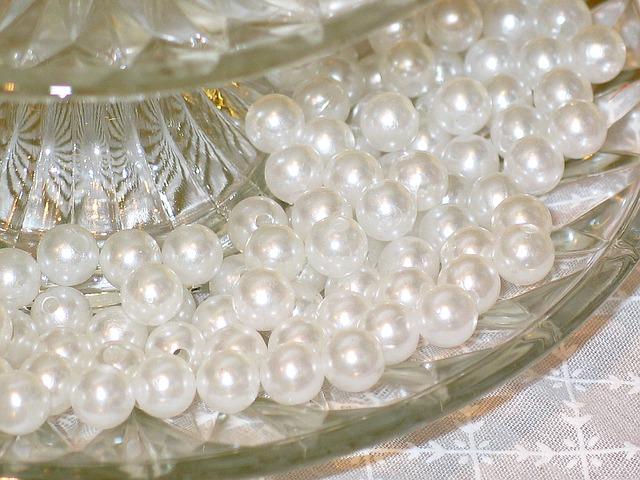 korálky perličky