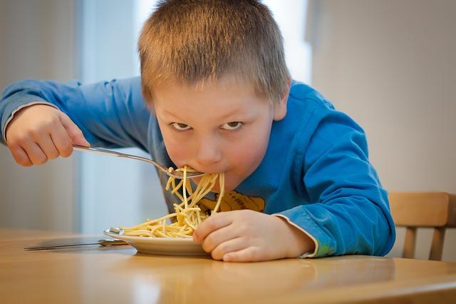 U špagetového diagramu se špagety nejí