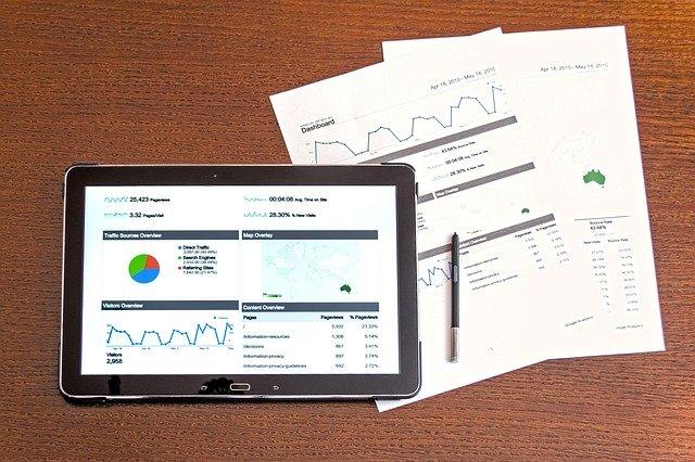 graf digitálního marketingu
